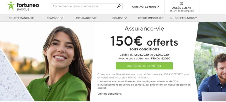Fortuneo : banque en ligne